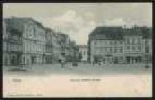 Ohlau – Ring und Breslauer Strasse [Dokument ikonograficzny]