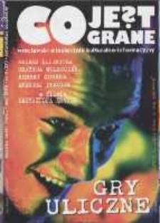 Co Jest Grane : wrocławski miesięcznik kulturalno-informacyjny, 1996, nr 5 (27)