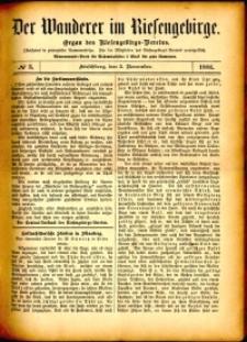 Der Wanderer im Riesengebirge, 1881, nr 3