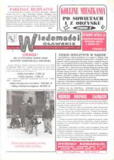 Wiadomości Oławskie, 1993, nr 1 (40)