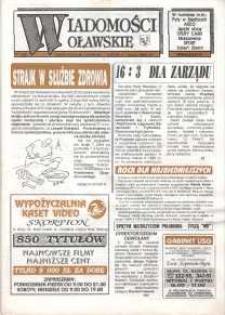 Wiadomości Oławskie, 1993, nr 9 (48)