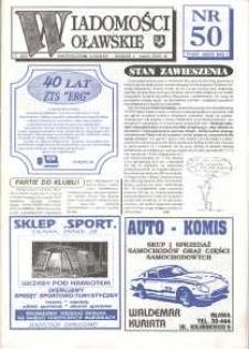 Wiadomości Oławskie, 1993, nr 11 (50)