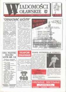 Wiadomości Oławskie, 1993, nr 18 (57)