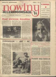 Nowiny Jeleniogórskie : magazyn ilustrowany, R. 17!, 1975, nr 34 (892)