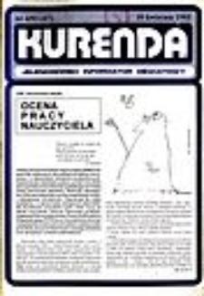 Kurenda : jeleniogórski informator oświatowy, 1993, nr 4 (47)