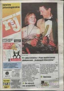 Nowiny Jeleniogórskie : tygodnik społeczny, R. 38, 1996, nr 13 (1972)