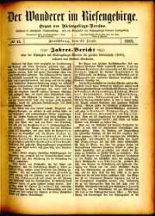 Der Wanderer im Riesengebirge, 1882, nr 11