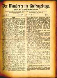 Der Wanderer im Riesengebirge, 1882, nr 12