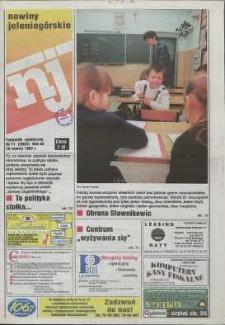 Nowiny Jeleniogórskie : tygodnik społeczny, R. 40, 1997, nr 11 (2023)
