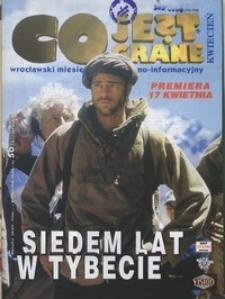 Co Jest Grane : wrocławski miesięcznik kulturalno-informacyjny, 1998, nr 4 (50)