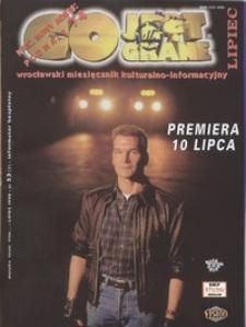 Co Jest Grane : wrocławski miesięcznik kulturalno-informacyjny, 1998, nr 7 (53)