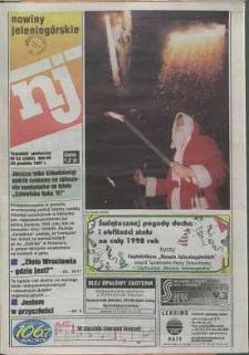 Nowiny Jeleniogórskie : tygodnik społeczny, R. 40, 1997, nr 52 (2063)