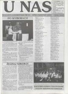 U Nas : miesięcznik jaworzyński, 1994, nr 15