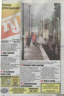 Nowiny Jeleniogórskie : tygodnik społeczny, R. 43, 2000, nr 1 (2168)