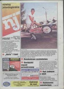 Nowiny Jeleniogórskie : tygodnik społeczny, R. 43, 2000, nr 34 (2201)