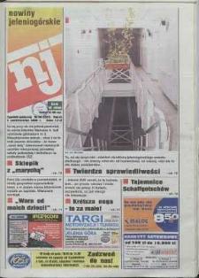 Nowiny Jeleniogórskie : tygodnik społeczny, R. 43, 2000, nr 40 (2207)