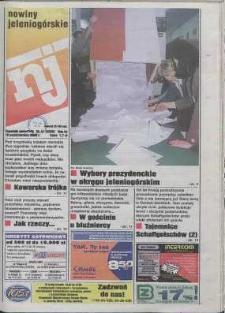 Nowiny Jeleniogórskie : tygodnik społeczny, R. 43, 2000, nr 41 (2208)
