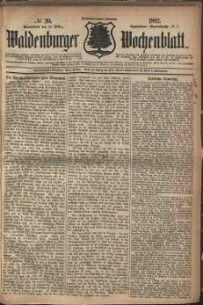 Waldenburger Wochenblatt, Jg. 28, 1882, nr 20