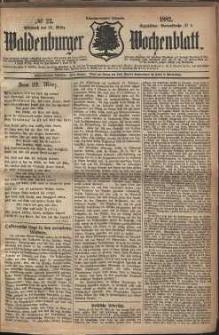 Waldenburger Wochenblatt, Jg. 28, 1882, nr 23