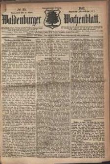 Waldenburger Wochenblatt, Jg. 28, 1882, nr 30