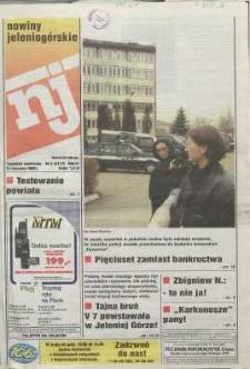 Nowiny Jeleniogórskie : tygodnik społeczny, R. 42, 1999, nr 2 (2117)