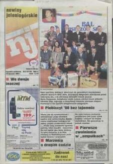 Nowiny Jeleniogórskie : tygodnik społeczny, R. 42, 1999, nr 3 (2118)