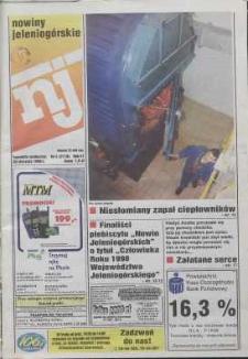 Nowiny Jeleniogórskie : tygodnik społeczny, R. 42, 1999, nr 4 (2119)