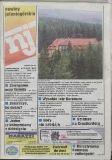 Nowiny Jeleniogórskie : tygodnik społeczny, R. 42, 1999, nr 25 (2140)