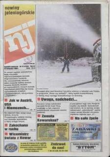 Nowiny Jeleniogórskie : tygodnik społeczny, R. 42, 1999, nr 47 (2162)