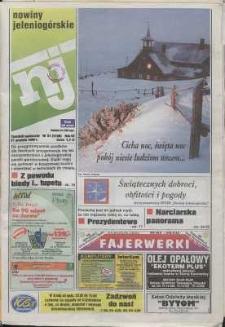 Nowiny Jeleniogórskie : tygodnik społeczny, R. 42, 1999, nr 51 (2166)