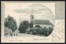 Gruss aus Ohlau – Evang. Luth. Kirche [Dokument ikonograficzny]