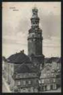 Ohlau - Ratsturm [Dokument ikonograficzny]