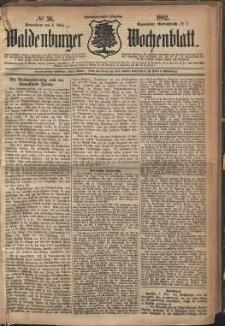 Waldenburger Wochenblatt, Jg. 28, 1882, nr 36