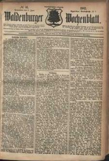 Waldenburger Wochenblatt, Jg. 28, 1882, nr 44