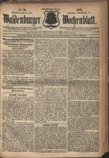 Waldenburger Wochenblatt, Jg. 28, 1882, nr 50