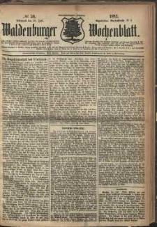 Waldenburger Wochenblatt, Jg. 28, 1882, nr 59