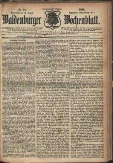 Waldenburger Wochenblatt, Jg. 28, 1882, nr 68