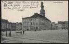 Ohlau – Ring mit Rathaus [Dokument ikonograficzny]