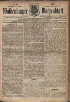 Waldenburger Wochenblatt, Jg. 28, 1882, nr 85