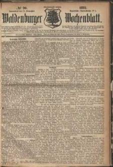 Waldenburger Wochenblatt, Jg. 28, 1882, nr 90