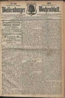Waldenburger Wochenblatt, Jg. 28, 1882, nr 101