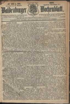 Waldenburger Wochenblatt, Jg. 28, 1882, nr 103/104