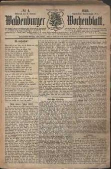 Waldenburger Wochenblatt, Jg. 29, 1883, nr 1