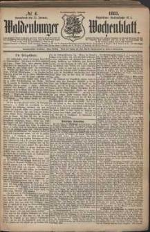 Waldenburger Wochenblatt, Jg. 29, 1883, nr 4