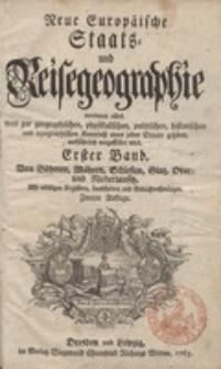 Neue Europäische Staats- und Reisegeographie. Bd. 1