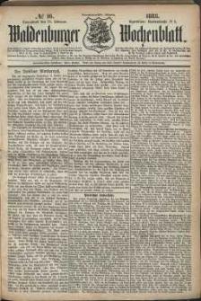 Waldenburger Wochenblatt, Jg. 29, 1883, nr 16