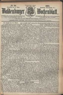 Waldenburger Wochenblatt, Jg. 29, 1883, nr 20