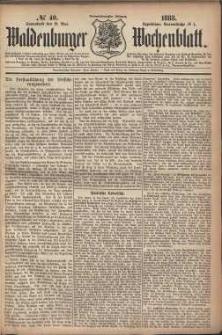 Waldenburger Wochenblatt, Jg. 29, 1883, nr 40