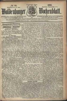 Waldenburger Wochenblatt, Jg. 29, 1883, nr 52
