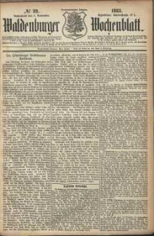 Waldenburger Wochenblatt, Jg. 29, 1883, nr 88
